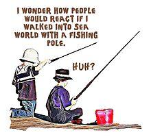 fishing t-shirt by Smashsome