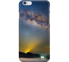 Lighting up the milky way iPhone Case/Skin