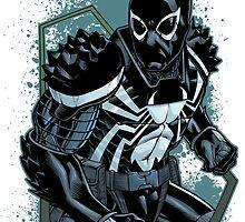 Agent Venom by dlxartist