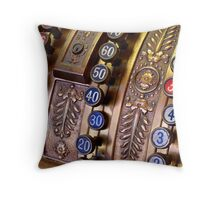 34 cents Throw Pillow