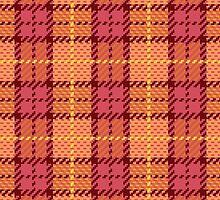Pixel Plaid by Lisann