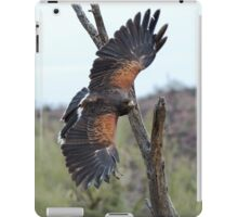 Harris Hawk Hunting iPad Case/Skin