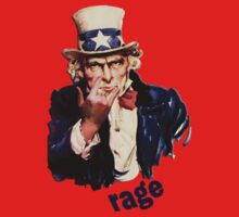 Uncle Sam - Ragin' by CuriosiTeez