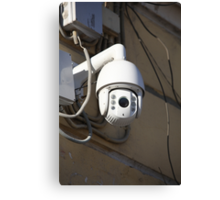Camera outdoor surveillance Canvas Print