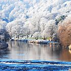 Frosty morning, Tweed Bridge, Peebles by Ospreywatcher