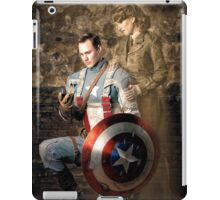Tanya Wheelock as Peggy Carter and Michael Mulligan as Captain America (Photography by Sean William / Dragon Ink Photography) iPad Case/Skin