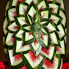 Watermelon Art by Teresa Zieba