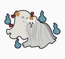 Ghost Maltese by SaradaBoru