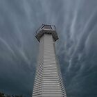 The Clouds & the Lighthouse. Cleveland Qld Australia by Beth  Wode