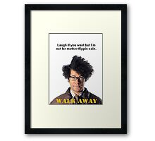 Maurice Moss The IT Crowd Framed Print