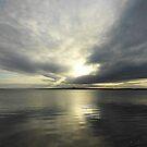 Where Water And Sky Meet................Ireland by Fara