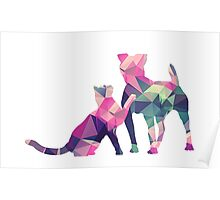 Moggy and Pooch #1. Take your best friend everywhere. Poster