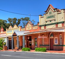 Australian Country Town, Ganmain, NSW (HDR) by Adrian Paul