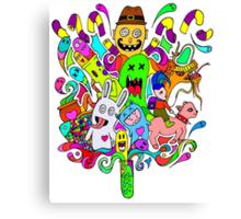 Test Tube Monsters V2.O Canvas Print