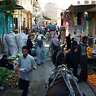 Luxor - The Old Town Market by Sheila Laurens