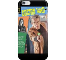Doctor Who Vintage Comics Cover iPhone Case/Skin