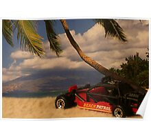 Dune Buggy in Hawaii Poster