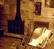 Grandma's Rocking Chair by Lisa Taylor