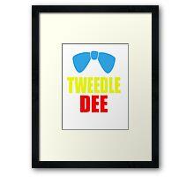 Tweedle Dee Framed Print