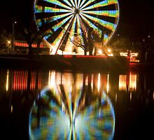 Wheel Of Colour by David  Lim