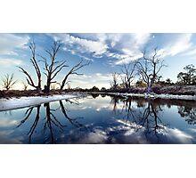 Lyrup Flats Photographic Print