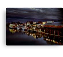 Night on the Sacramento Waterfront Canvas Print