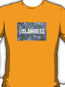 Hipster Los Angeles Purple T-Shirt