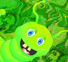 Happy-Caterpillar by Orla Cahill