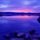 Lake Jindabyne Victoria Australia by Debbie Steer