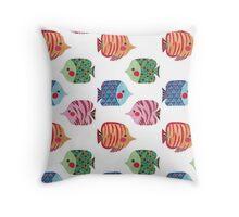 Butterflyfish Throw Pillow