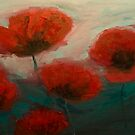 Poppies by Magda Vacariu