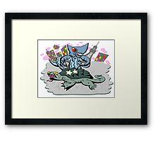 Ah Lord Zigra! Framed Print