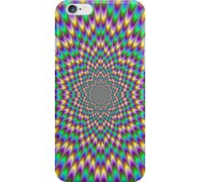 Trippy optical illusion. Look carefully ;) iPhone Case/Skin