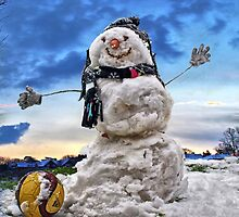 Snow Man by NeilAlderney