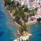 Cape Plakes, Skiathos, aerial view by airphoto-gr