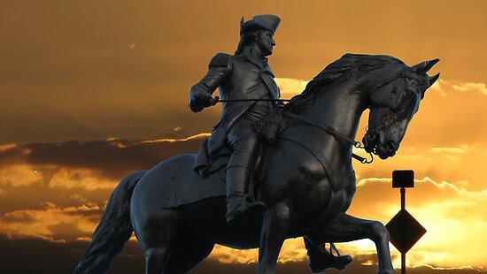 Statue of George Washington by LudaNayvelt