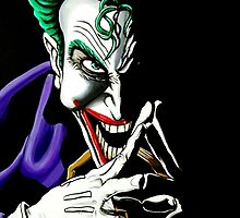 'The Joker', Why so serious? by KARLNASH