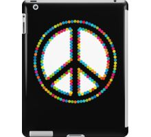 Circled Peace Sign Symbol 2 iPad Case/Skin