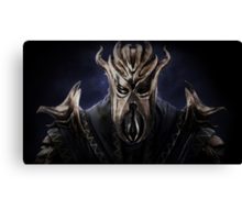 The Elder Scrolls V - Skyrim Dragonborn Canvas Print