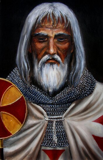Jacques de Molay by dashinvaine
