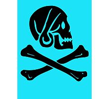 Pirate Skull & Bones Photographic Print