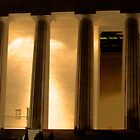Lincoln Memorial at Night by Wayne King