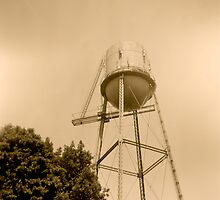 Pocasset Water Tower by Paul Lavallee