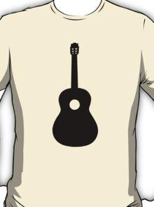 Black Acoustic Guitar T-Shirt