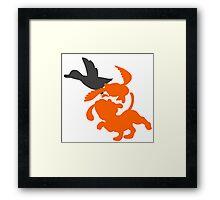 Smash Bros - Duck Hunt Framed Print