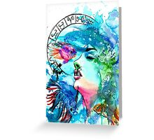 ♓ Pisces ♓ Greeting Card
