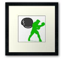 Smash Bros - Little Mac Framed Print