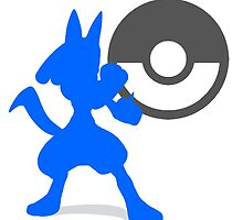 Smash Bros - Lucario by Exclamation Innovations