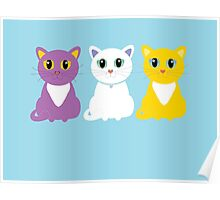 Only Three Cats Poster