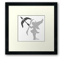 Smash Bros - Pit Framed Print